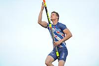 Fierljeppen: IJLST: 14-06-2017, winnaar Nard Brandsma 20.78 m, ©foto Martin de Jong