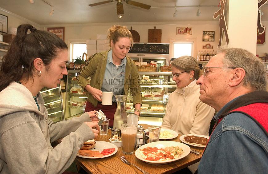 The Main Street Bakery, a popular breakfast spot in Aspen, Colorado. © Michael Brands. 970-379-1885.