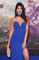 Jasmine Walia at the premiere of &quot;Alice Through the Looking Glass&quot; at the Odeon Leicester Square, London.<br /> May 10, 2016  London, UK<br /> Picture: Steve Vas / Featureflash