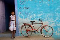 Schoolgirl - Borkhandi, India