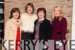 Irene O Donnell, Melanie O Donnell, Betty Kelly and Gayle Kelly all from Tralee enjoying the 'Dress Haven' Fashion Event in aid of Recovery Haven at Fels Point Hotel on Saturday