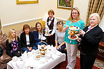 Ciara Irwin Foley and  Mary McMonagle launching the Killarney Rotary club afternoon tea in aid of St Vincent de Paul which will be held on Sat oct 11 in the Malton Hotel were l-r: Eve Kelliher, Katie O'Connell, Deirde Twomey  Martina O'Leary, Grace O'Neill,Ciara Irwin Foley and  Mary McMonagle,