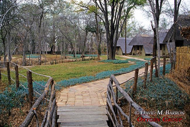 Lodges, Hwange Natl. Park