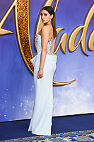 """Naomi Scott<br /> arriving for the """"Aladdin"""" premiere at the Odeon Luxe, Leicester Square, London<br /> <br /> ©Ash Knotek  D3500  09/05/2019"""