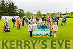 Ballylongford Playground Fundraiser:  Mayor of Listowel Municipal District , Cllr Michael Foley pictured in Ballylongford Church grounds to launch the funraising initiative  for the playground.