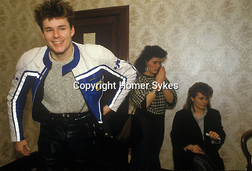 Big Country 1980s Scottish Rock Band Homer Sykes