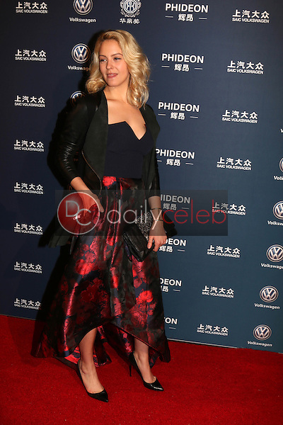Gage Golightly<br /> at the 21st Annual Huading Global Film Awards - Arrivals, The Theatre at The ACE Hotel, Los Angeles, CA 12-15-16<br /> David Edwards/DailyCeleb.com 818-249-4998