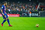 Jose Paulo Bezerra Maciel Junior, Paulinho, of FC Barcelona during the La Liga 2017-18 match between Valencia CF and FC Barcelona at Estadio de Mestalla on November 26 2017 in Valencia, Spain. Photo by Maria Jose Segovia Carmona / Power Sport Images