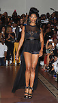 Jennifer Williams - Basketball Wives walks at Samantha Black Fashion Show - NYC Fashion Week - September 7, 2013 - New York City, NY (Photo by Sue Coflin/Max Photos)