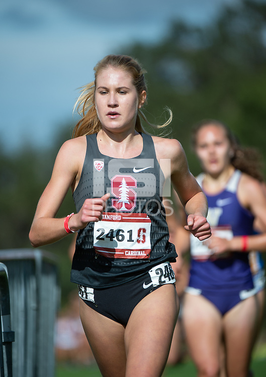 Stanford, Ca - Saturday, September 29, 2018: The 2018 Stanford Invitational Cross Country Meet, held at the Stanford Golf Course.