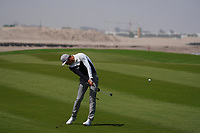 Haotong Li (CHN) on the 9th during Round 3 of the Oman Open 2020 at the Al Mouj Golf Club, Muscat, Oman . 29/02/2020<br /> Picture: Golffile   Thos Caffrey<br /> <br /> <br /> All photo usage must carry mandatory copyright credit (© Golffile   Thos Caffrey)