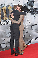 Charlie Hunnam and David Beckham<br /> at the premiere of &quot;King Arthur:Legend of the Sword&quot; at the Empire Leicester Square, London. <br /> <br /> <br /> &copy;Ash Knotek  D3265  10/05/2017