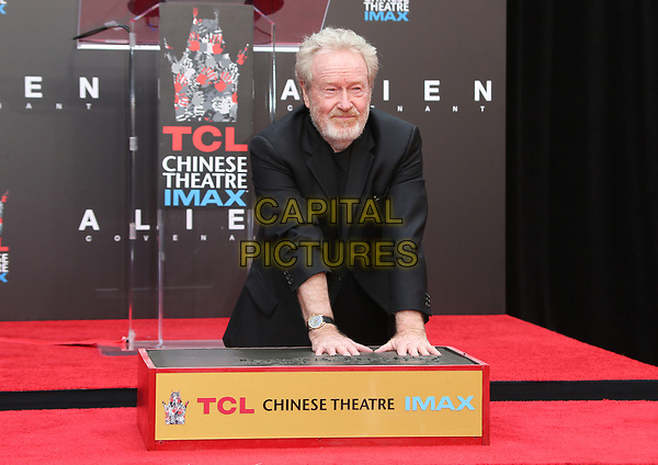 17 May 2017 - Hollywood, California - Sir Ridley Scott. Sir Ridley Scott Hand And Footprint Ceremony. <br /> CAP/ADM<br /> &copy;ADM/Capital Pictures