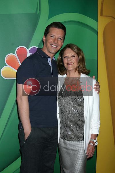 Sean Hayes, Linda Lavin<br /> at the NBC Press Tour, Beverly Hilton, Beverly Hills, CA 07-27-13<br /> David Edwards/Dailyceleb.com 818-249-4998