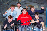 Ian O'Connell celebrates his Leaving Cert results with his class mates from St Brendan's College on Monday front row l-r: Diarmaid O'Donoghue, Ian O'Connell, Fionn Houlihan. Back row: Connie Cremin, Chris Carey and OLiver Cremin