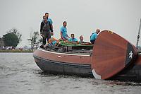 SKÛTSJESILEN: ELAHUIZEN: De Fluezen, 24-07-2015, SKS kampioenschap 2015, ©foto Martin de Jong