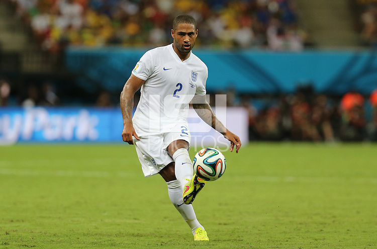 England's Glen Johnson