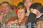 .1700-1708.Killarney Mayor Sheila Casey shows the tension in her face at the South Kerry count in The Malton Hotel, Killarney, last Friday...