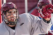 Steven Iacobellis (UMass - 16) - The UMass Minutemen practiced at Fenway Park on Friday, January 6, 2017, in Boston, Massachusetts.