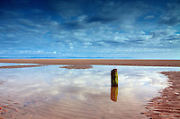 The North Sea and Caithness from Findhorn, Moray