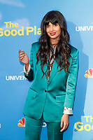 "LOS ANGELES - JUN 7:  Jameela Jamil at the NBC's ""The Good Place"" FYC Event at the Television Academy on June 7, 2019 in North Hollywood, CA"