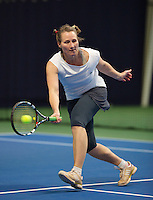 Hilversum, The Netherlands, March 10, 2016,  Tulip Tennis Center, NOVK, Mirjam Swarte<br /> Photo: Tennisimages/Henk Koster