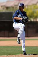 Cory Luebke - San Diego Padres - 2009 spring training.Photo by:  Bill Mitchell/Four Seam Images