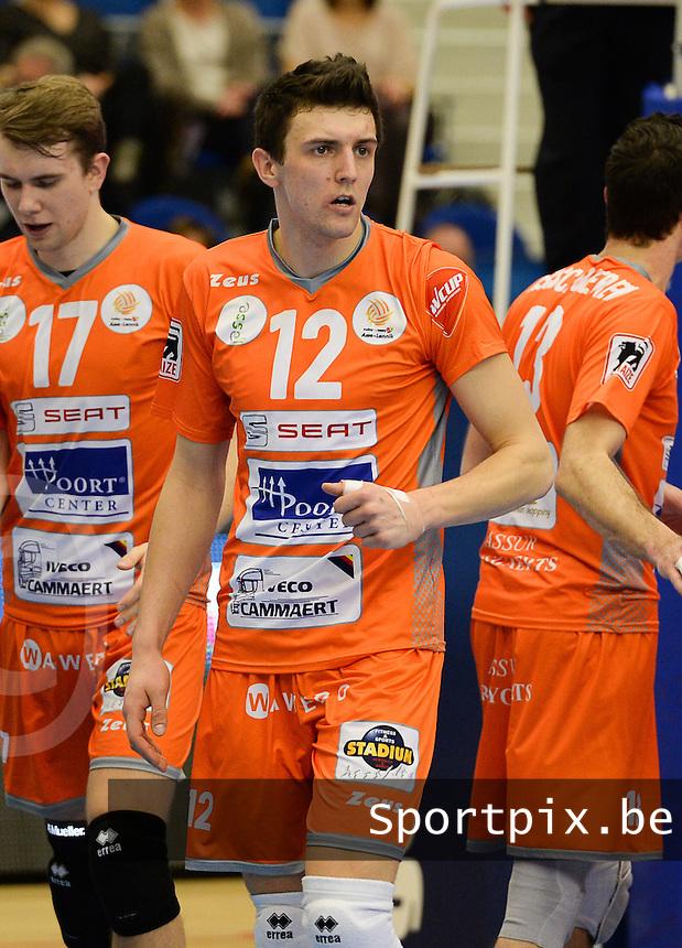 Volley Behappy2 Asse Lennik : Janusz Gorski <br /> foto VDB / BART VANDENBROUCKE