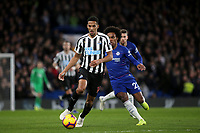 Isaac Hayden of Newcastle United in action during Chelsea vs Newcastle United, Premier League Football at Stamford Bridge on 12th January 2019