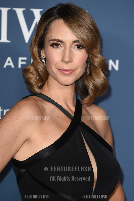 LONDON, UK. October 09, 2018: Alex Jones arriving for the 2018 IWC Schaffhausen Gala Dinner in Honour of the BFI at the Electric Light Station, London.<br /> Picture: Steve Vas/Featureflash