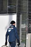 Die Jalousien nach einem Schuss von Hoffenheims Ishak Belfodil (Nr.19)  beim Training in der Bundesliga der TSG 1899 Hoffenheim.<br /> <br /> Foto &copy; PIX-Sportfotos *** Foto ist honorarpflichtig! *** Auf Anfrage in hoeherer Qualitaet/Aufloesung. Belegexemplar erbeten. Veroeffentlichung ausschliesslich fuer journalistisch-publizistische Zwecke. For editorial use only.