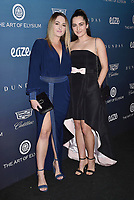 LOS ANGELES, CA - JANUARY 05: Chloe Winkler (L) and Paris Winkler attend Michael Muller's HEAVEN, presented by The Art of Elysium at a private venue on January 5, 2019 in Los Angeles, California.<br /> CAP/ROT/TM<br /> ©TM/ROT/Capital Pictures