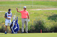 Jorge Campillo (ESP) on the 1st fairway during Round 4 of the HNA Open De France at Le Golf National in Saint-Quentin-En-Yvelines, Paris, France on Sunday 1st July 2018.<br /> Picture:  Thos Caffrey | Golffile