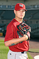 July 1st 2008:  Pitcher Travis Blackley of the Lehigh Valley IronPigs, Class-AAA affiliate of the Philadelphia Phillies, during a game at Frontier Field in Rochester, NY.  Photo by:  Mike Janes/Four Seam Images