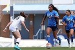 13 September 2015: UCLA's Darian Jenkins (11) and North Carolina's Julia Ashley (16). The University of North Carolina Tar Heels hosted the University of California Los Angeles Bruins at Fetzer Field in Chapel Hill, NC in a 2015 NCAA Division I Women's Soccer game. UNC won the game 3-1.