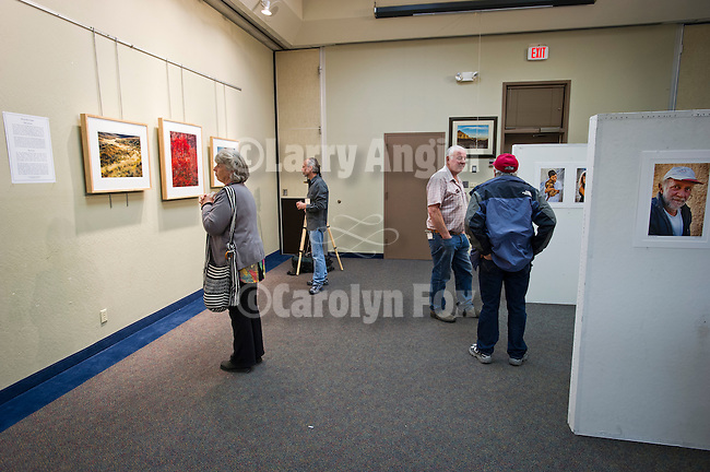 Photos by presenter on display, Shooting the West XXIV, WInnemucca, Nevada