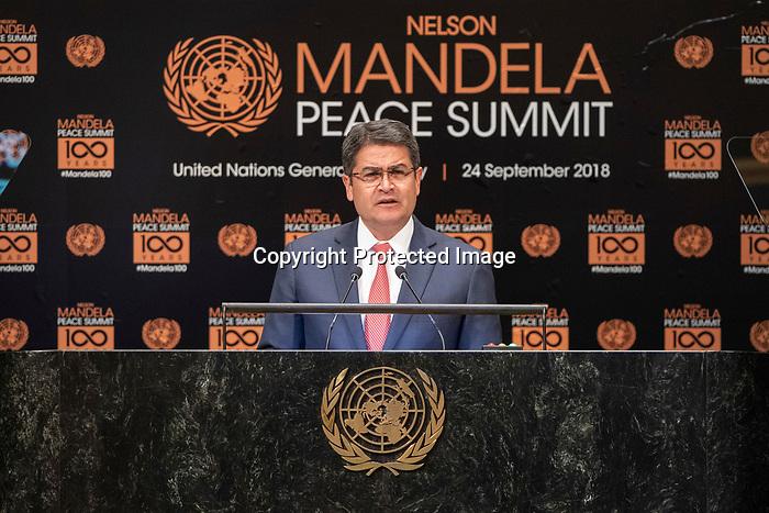 Opening Plenary Meeting of the Nelson Mandela Peace Summit<br /> <br /> Handoras