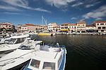 Hafen, Meze , Etang de Thau, Languedoc, Canal du Midi, Frankreich, France