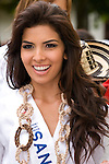 Candidates of National Beauty Pageant, November Independence festivities, Cartagena de Indias, Bolivar Department, Colombia, South America.