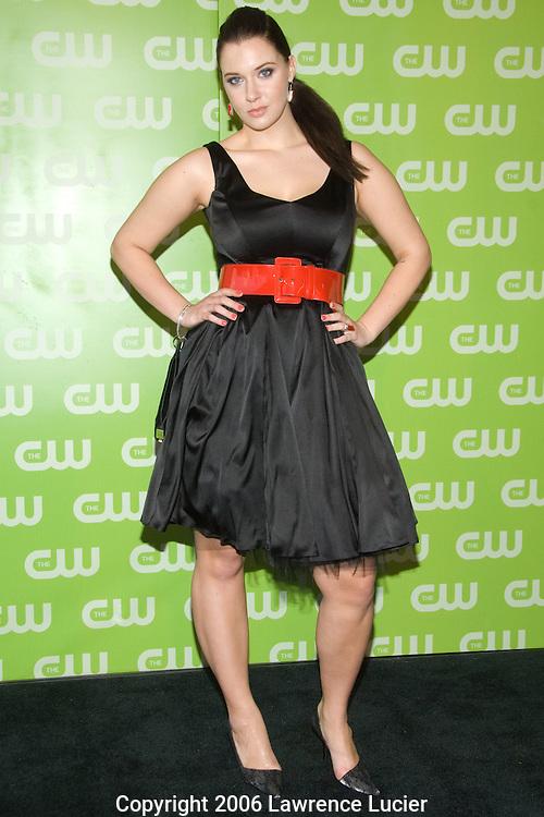 Model Diana Zalewski arrives at the 2007 CW Upfront May 17, 2007, at Madison Square Garden in New York City. (Pictured : DIANA ZALEWSKI).