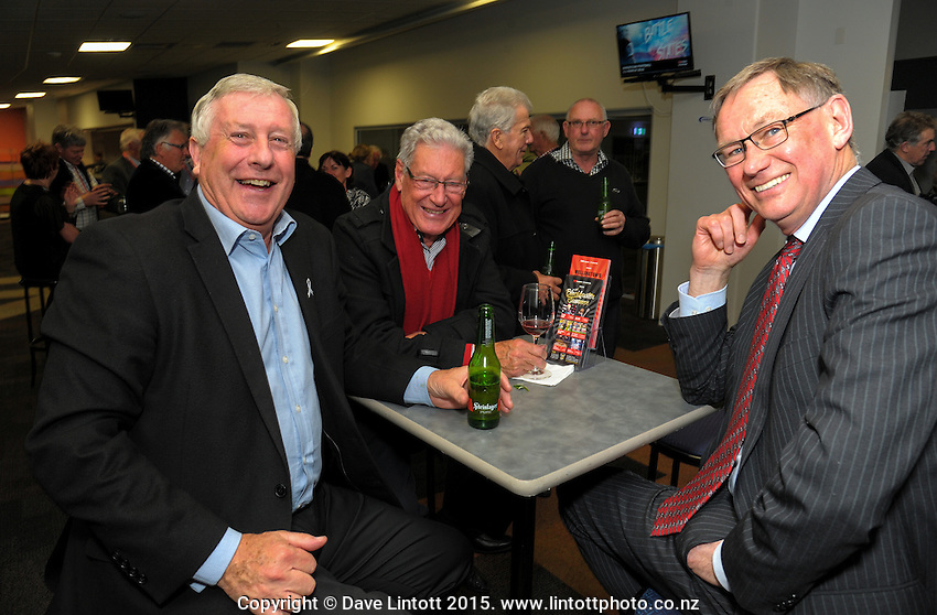 Members' function at Westpac Stadium, Wellington, New Zealand on Wednesday, 9 September 2015. Photo: Dave Lintott / lintottphoto.co.nz