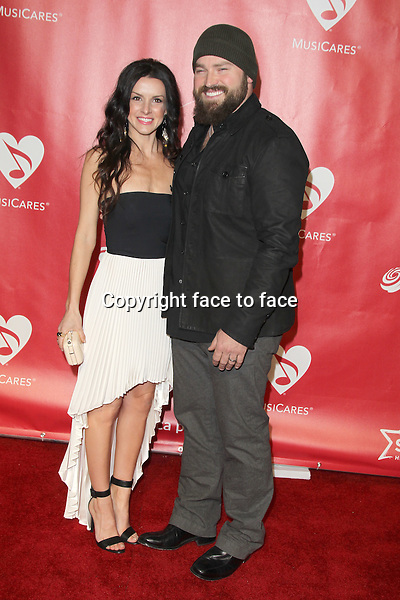 Shelly Brown and Zac Brown at the 2013 MusiCares Person Of The Year Gala Honoring Bruce Springsteen at Los Angeles Convention Center on February 8, 2013 in Los Angeles, California...Credit: MediaPunch/face to face..- Germany, Austria, Switzerland, Eastern Europe, Australia, UK, USA, Taiwan, Singapore, China, Malaysia and Thailand rights only -