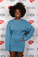 Clara Amfo<br /> at The Ivor Novello Awards 2017, Grosvenor House Hotel, London. <br /> <br /> <br /> ©Ash Knotek  D3267  18/05/2017