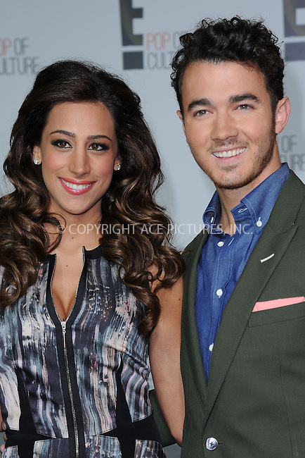 WWW.ACEPIXS.COM . . . . . .April 22, 2013...New York City....Danielle Jonas and Kevin Jonas attend the E! 2013 Upfront at The Grand Ballroom at Manhattan Center on April 22, 2013in New York City.....Please byline: KRISTIN CALLAHAN - WWW.ACEPIXS.COM.. . . . . . ..Ace Pictures, Inc: ..tel: (212) 243 8787 or (646) 769 0430..e-mail: info@acepixs.com..web: http://www.acepixs.com .
