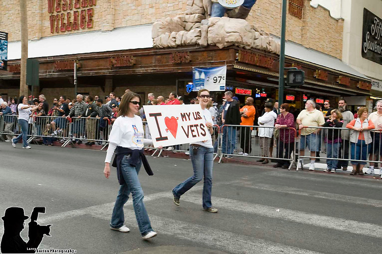 2009 Veterans Day Parade in downtown Las Vegas