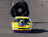 Feb 27, 2016; Chandler, AZ, USA; NHRA top sportsman driver Richard Okerman during qualifying for the Carquest Nationals at Wild Horse Pass Motorsports Park. Mandatory Credit: Mark J. Rebilas-