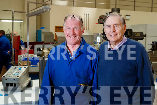 James Murphy and Ned Harty at Dairymaster, Causeway.