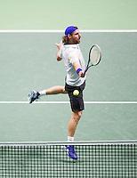 Februari 13, 2015, Netherlands, Rotterdam, Ahoy, ABN AMRO World Tennis Tournament, Andre Bagemann (GER)<br /> Photo: Tennisimages/Henk Koster