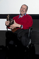 Chicho Ibanez Serrador receive the honorific award during opening of International Fantastic Film Festival of Madrid, Nocturna in Madrid, Spain. October 26, 2017. (ALTERPHOTOS/Borja B.Hojas)