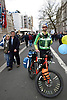 Paramedic at Put it to the People demonstration in central London against Brexit and an appeal for a Peoples Vote on a final Deal. London UK 23 March 2019